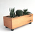 Recycled Wood Rectangular Succulent Planter