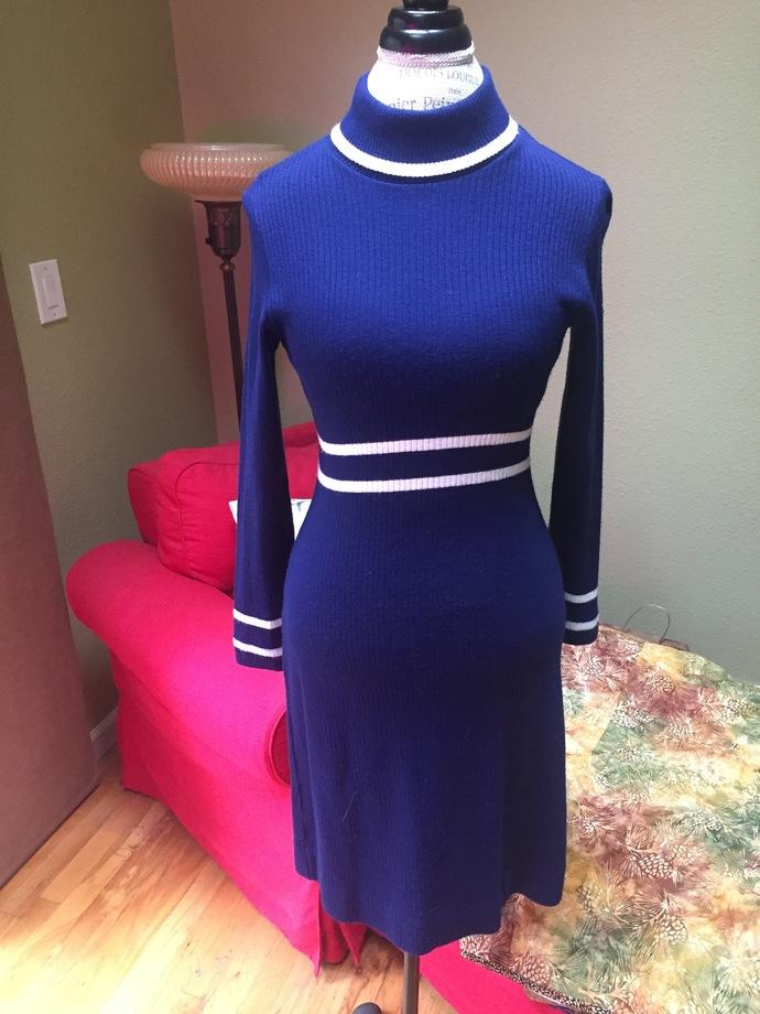 Vintage sweater dress by Shady Lane