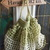 French Style Market Bag - Key Lime