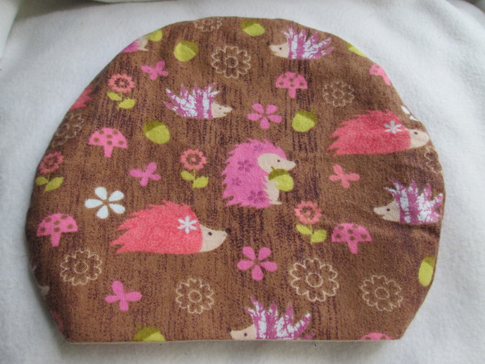 Woodland Hedgehogs Round Sleeping Bag for Hedgehogs made to fit inside Igloos &