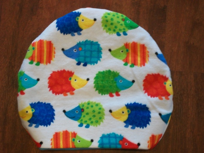 Rainbow Circus Hedgehogs *  Round Sleeping Bag for Hedgehogs made to fit inside