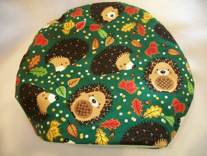 Hedgehogs Playing in the Woods *  Round Sleeping Bag for Hedgehogs made to fit