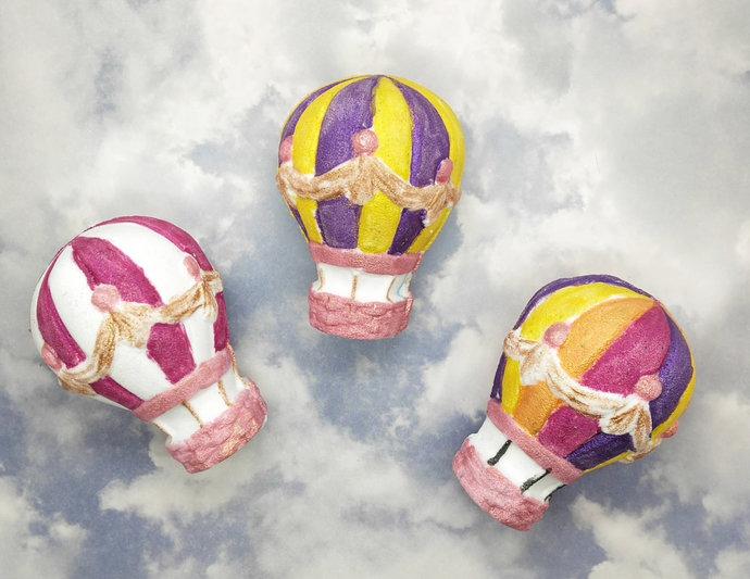 Spirit of Adventure Bath Bomb | Hot Air Balloon, Large 3D shape 6.5 oz.