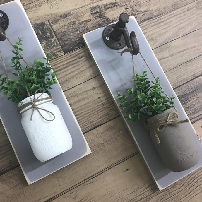 DIY- Mason Jar Wall Decor