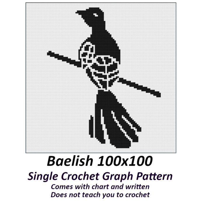 Baelish Crochet Graph Pattern 100x100