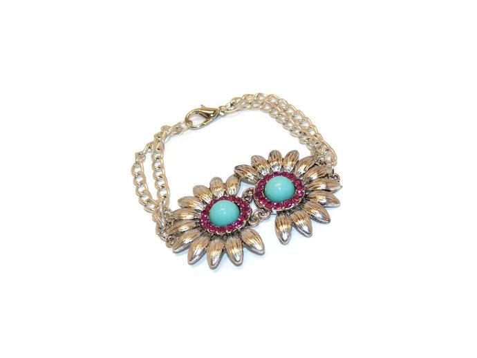 Flower bracelets for women  flower bracelet