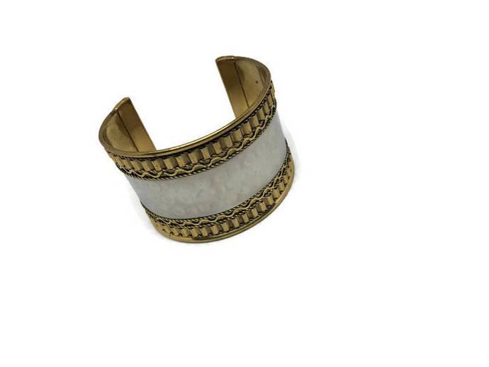 Gold & Silver Bangle Bracelet