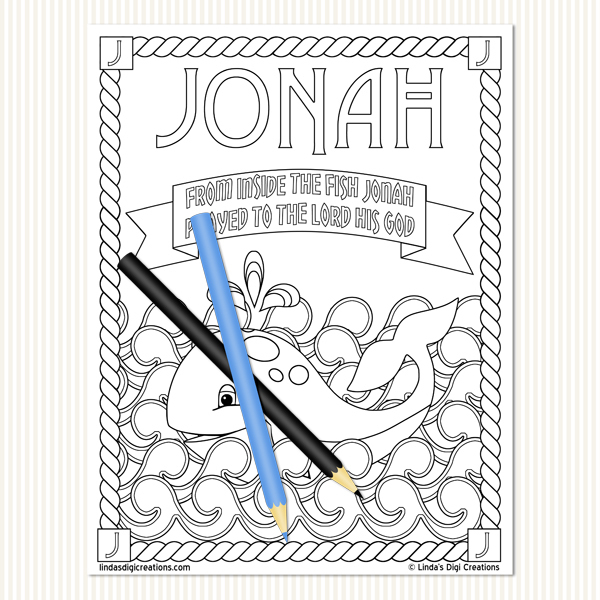 Men Of The Bible Set 4_Printable Coloring Pages