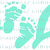 Pro Life Vinyl Decal with Baby Feet in the Center Sticker