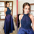Prom Dress Halter Neckline,Long Homecoming Dress, Back to Schoold Party Gown