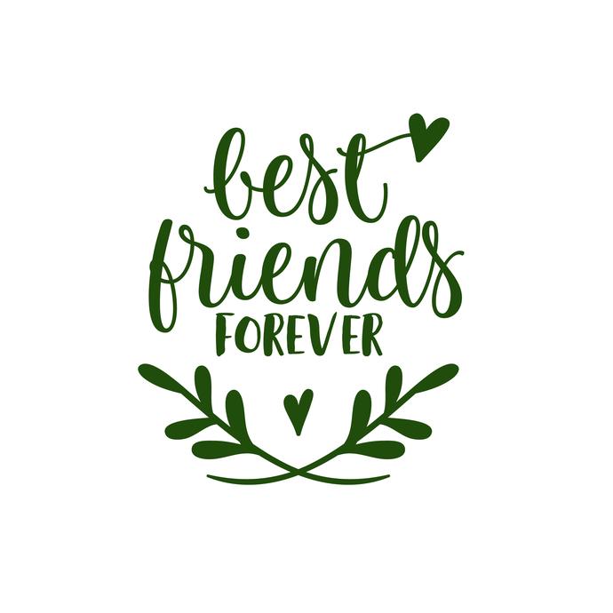 Best Friends Forever Graphics Svg Dxf Eps Png Vectordesign