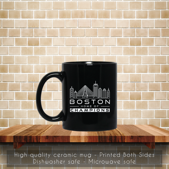 Boston Home Of Champions Coffee Mug, Tea Mug, Boston Home Mug, Champions Tea
