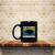 Rhino Endangered Leather Family Coffee Mug, Tea Mug, Coffee Mug, Vintage Rhino