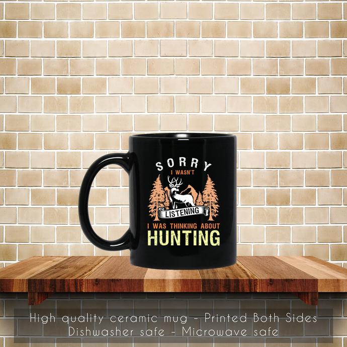 Retro Funny Hunting Coffee Mug, Tea Mug, Coffee Mug, Hunting Tea Mug, Vintage