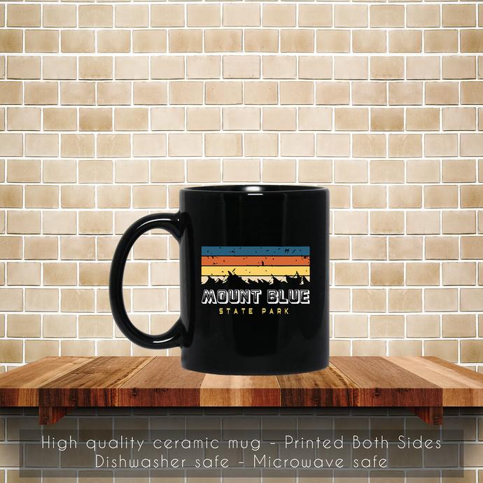 Mount Blue State Park Maine Souvenirs Coffee Mug, Tea Mug, Maine Souvenirs Mug,