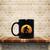 Bigfoot Goes Fishing Retro Coffee Mug, Tea Mug, Coffee Mug, Bigfoot Goes
