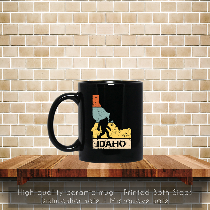 Funny Bigfoot Idaho, Love Idaho Coffee Mug, Tea Mug, Coffee Mug, Bigfoot Idaho