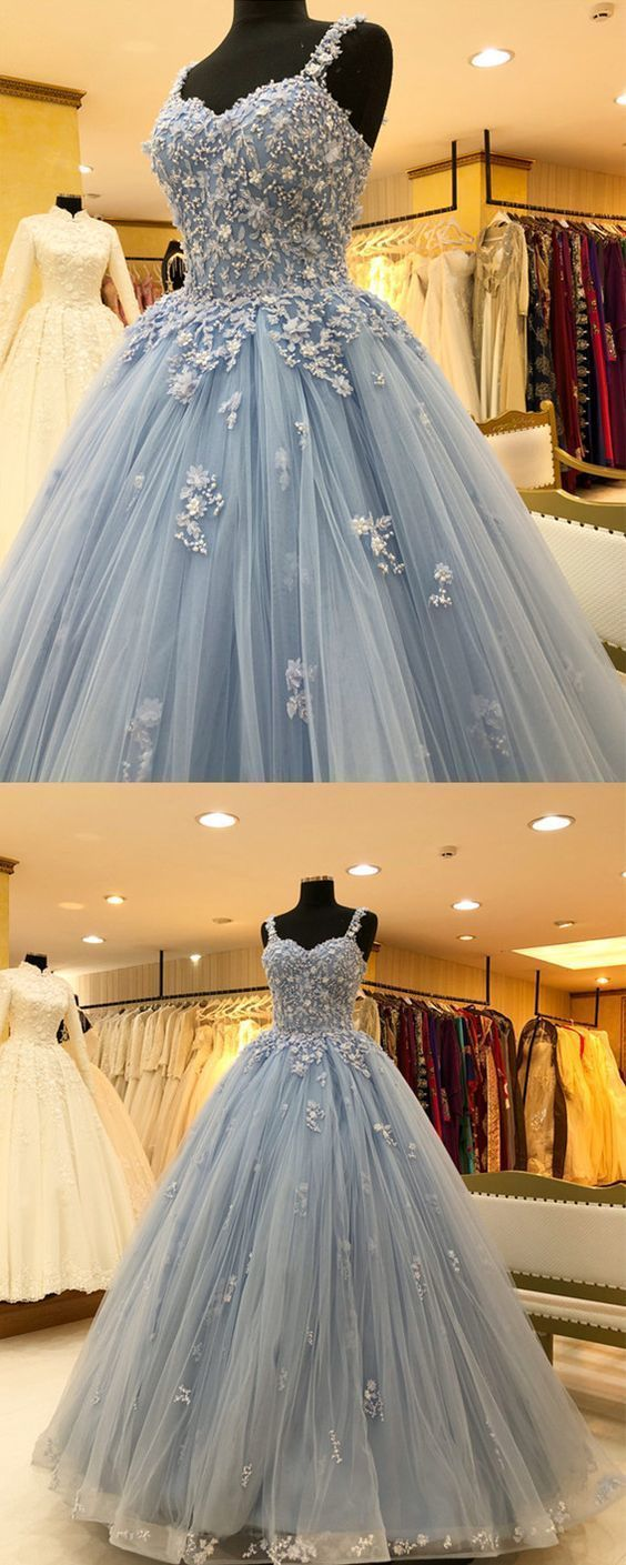 48718fe9882 Chic Lace Beaded Sweetheart Tulle Ball Gowns by ainiprom on Zibbet
