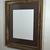 16x20 recycled wood poster frame with 11x14 green mat