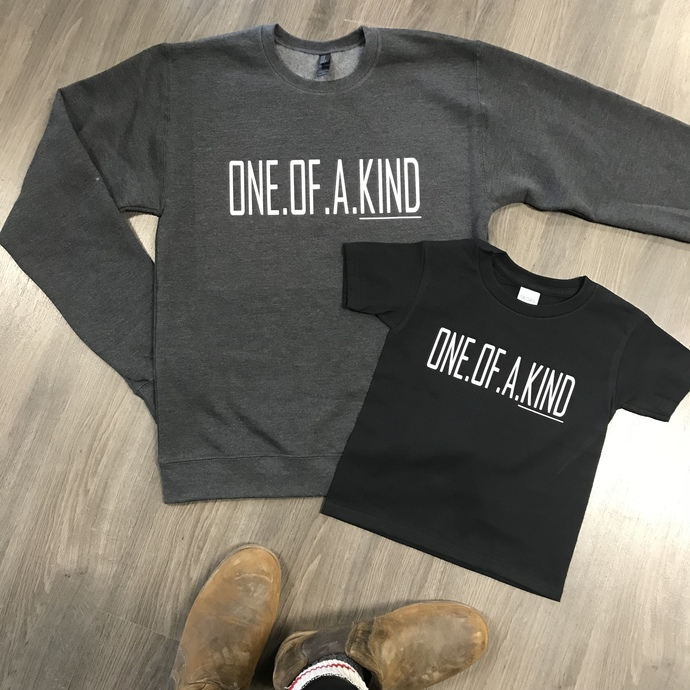 One.Of.A.Kind Crew Sweatshirt Charcoal