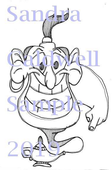 2820 Aladdin Digi Stamp