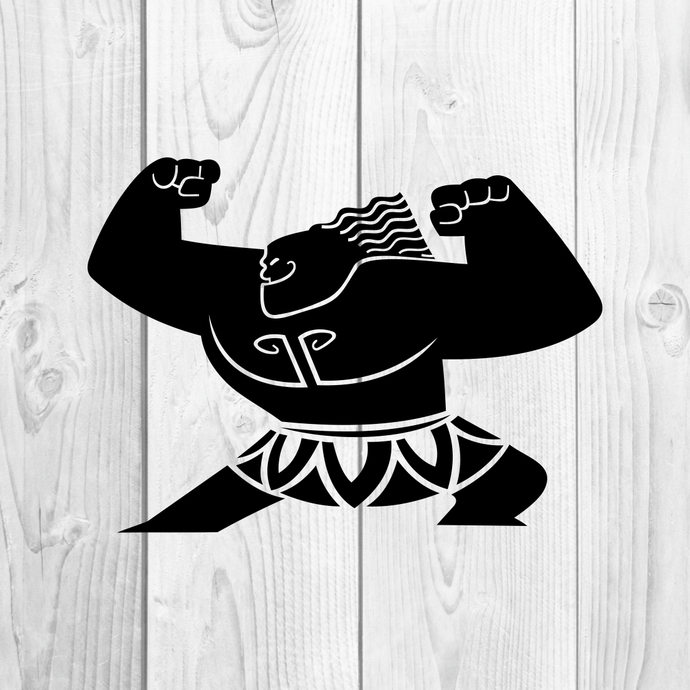 Mini Maui Moana Hawaiian Graphics SVG Dxf EPS Png Cdr Ai Pdf Vector Art Clipart
