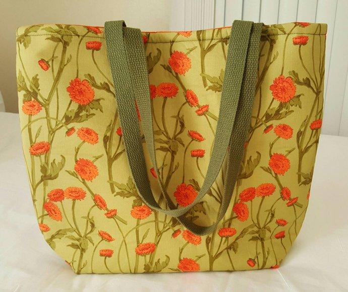 BoKa Beach Baby Bag in Field Flowers