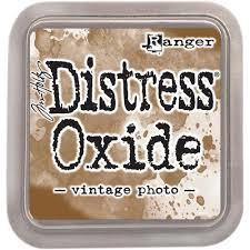 "Distress Oxide ink pad 3x3"" VINTAGE PHOTO"