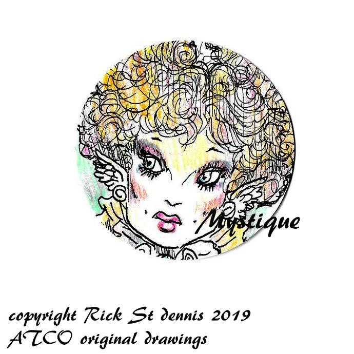 "ATCO Original Art ""coin Style"" 2019 Mystique"