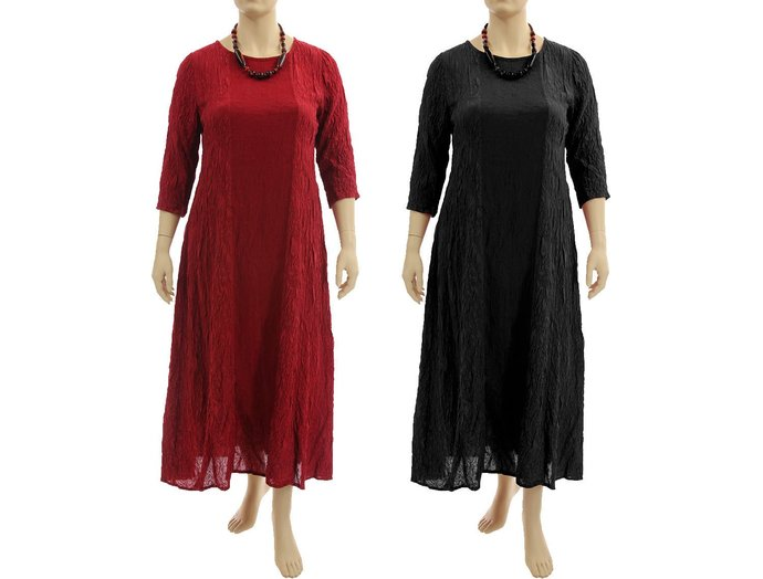 Mother Christmas Outfits Plus Size.Maxi Plus Size Evening Silk Dress Red Or Black Going Out Dress Mother Of The Bride Dress Party Dress Christmas Dress L Xl Us Size 16 20