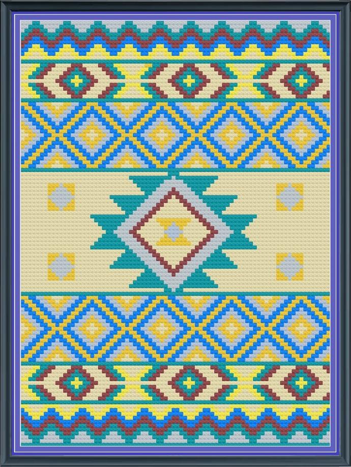 Cherokee Freedom - 80 x 110 (C2C)