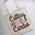 Cutting is my Cardio Custom Cotton Tote Bag, Personalized Bags, Hairdresser