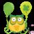 Happy St. Patrick's Day Owls