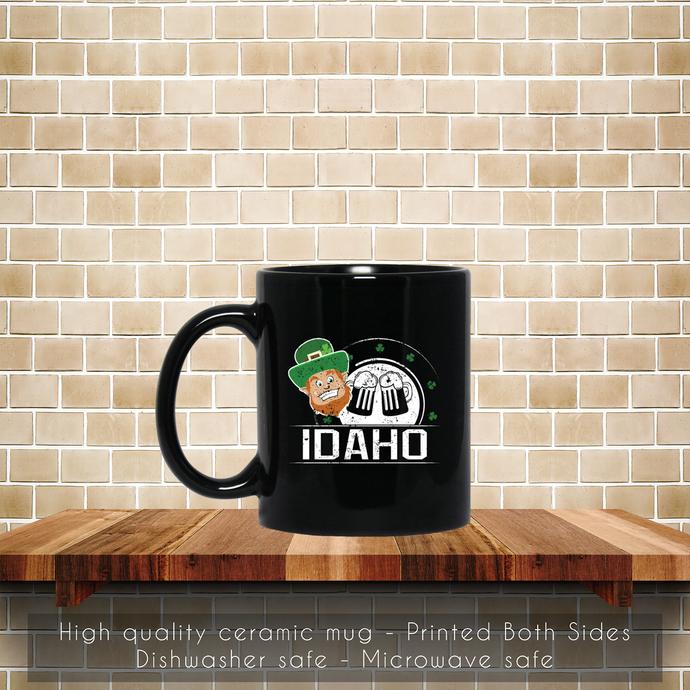 St Pattys Day Girl Idaho St Patricks Day Apparel Coffee Mug, Tea Mug, Coffee