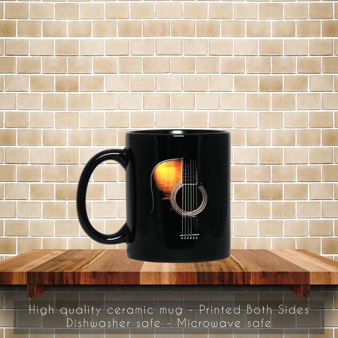 Guitar Art Music Relax Favorite, Best Friend Guitar Coffee Mug, Tea Mug, Guitar