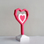 DIY Heart Trophy,Valentines gifts,Angel heart,Papercraft heart,Origami