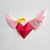DIY Angel wings wall decor,Valentines decorations,Angel heart,Papercraft