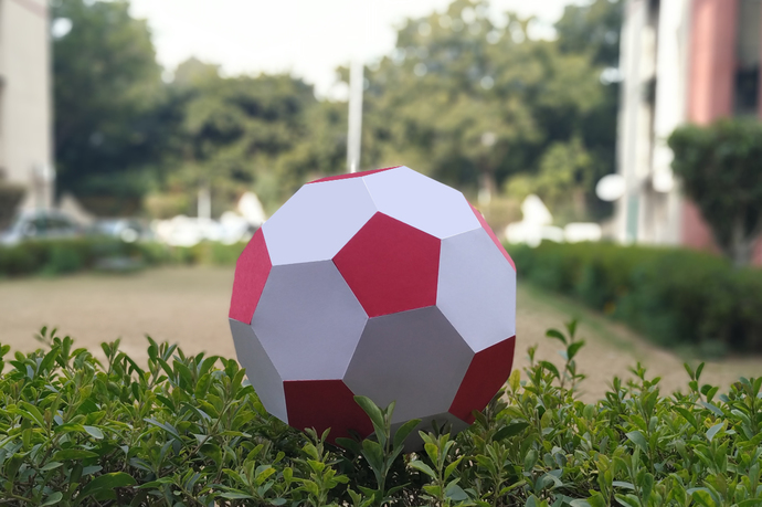 DIY Papercraft Football,Printable football,Paper ball,football toy,Print and