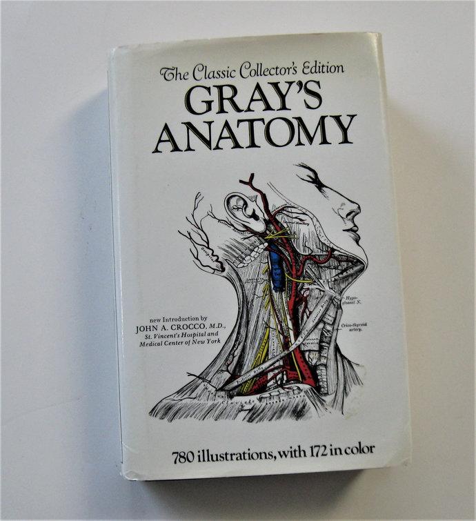 Vintage Gray's Anatomy, Medical textbook, Collector's Edition, circa 1977,