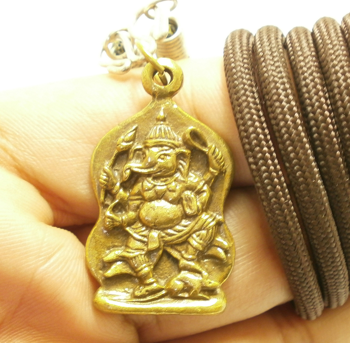 Lord OM Hinduism Brass pendant Amulet