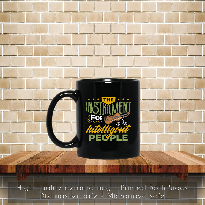 Violin Player, Violinist Bow, Music Instrument Coffee Mug, Tea Mug, Violinist