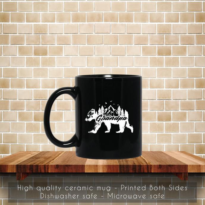 Grandpa Bear Coffee Mug, Tea Mug, Grandpa Bear Mug, Grandpa Coffee Mug, Bear Tea