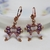 Beading Tutorial - Little Bow Earrings Beadweaving Instruction Beading Pattern