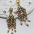 Earrings Tutorial - Varvara Earrings Beadweaving Instruction Beading Pattern