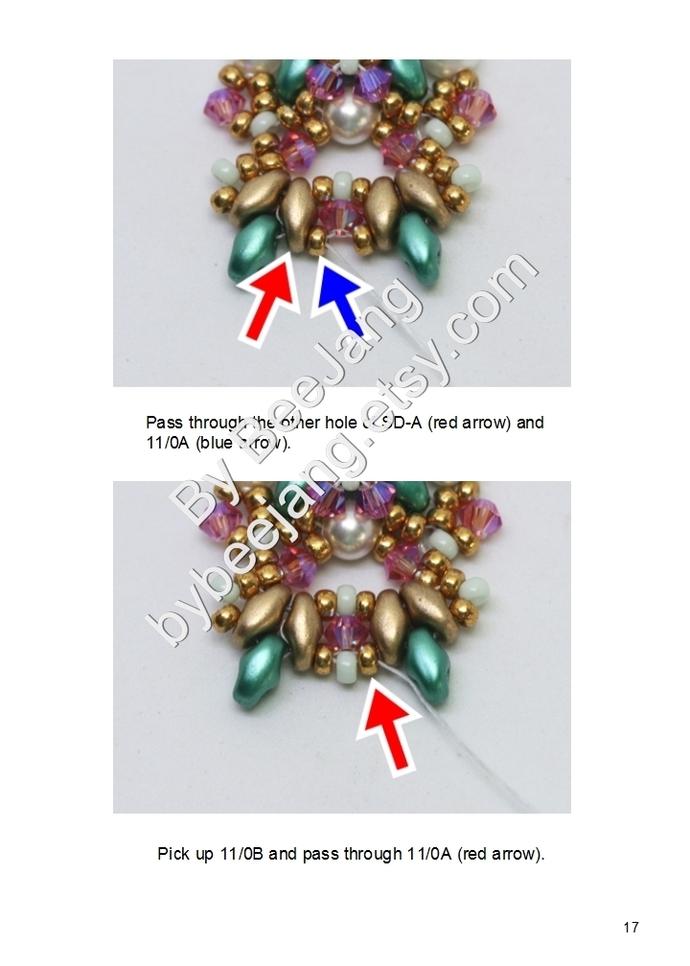 Earrings Tutorial - Varvara Earrings Beadweaving Instruction Beading Pattern