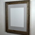 16x20 recycled wood poster frame with 11x14 gray mat