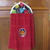 Lady Bug Kitchen Towel, Kitchen Towels, Hanging Dish Towels, Handmade Dish