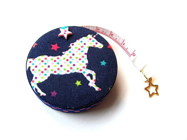 Tape Measure Stars and Unicorns Retractable Measuring Tape
