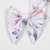 Jane Bow Clip - Lavendar Watercolor Floral