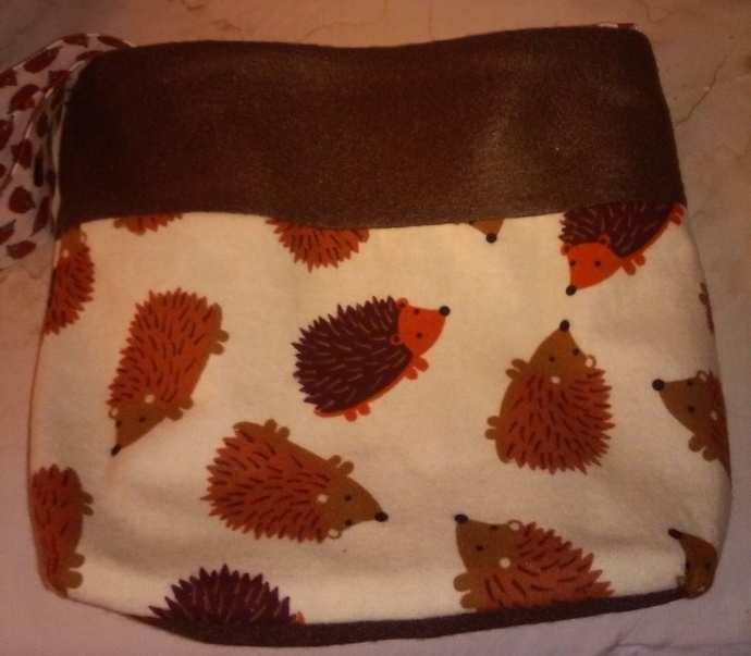 HEDGEHOGS IN PLAY Bonding Bag, Cuddle Sack, Travel Pouch for Hedgehogs and other
